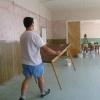 Maľovanie zasadačky - 2012